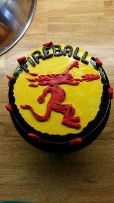 Fireball Cinnamon Whisky Themed Cake Birthday Cakes Pinterest Whisky Themed Cakes And
