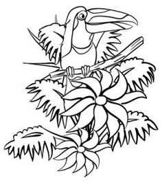 jungle tree coloring pages and jungles on pinterest