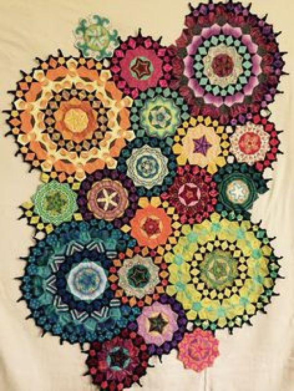 My La Passacaglia quilt from Millefiori Quilts.