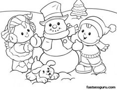penguins snowman and coloring on pinterest