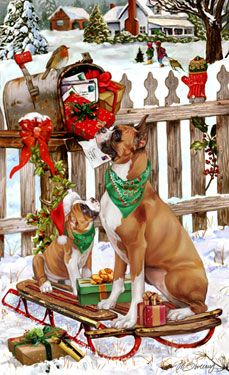 1000 Images About Sweeney Holiday Dog Art On Pinterest