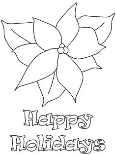 1000 images about poinsetta on pinterest christmas coloring