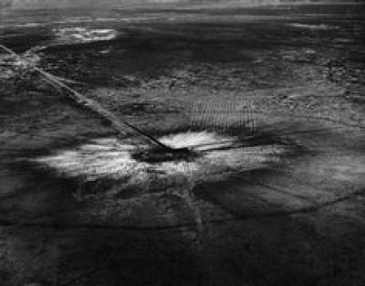 1945 Trinity Ground Zero in Alamogordo, New Mexico.