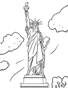 printable liberty bell coloring page free pdf download at http