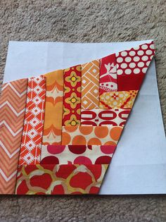 Crazy Mom Quilts How To Make A Pineapple Block Without