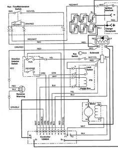 ezgo golf cart wiring diagram | Wiring Diagram for EZGO 36volt Systems With Resistor Coils
