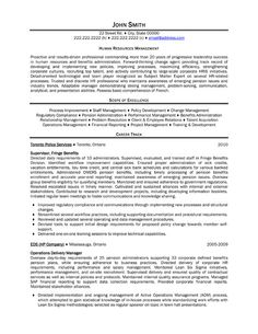 resume templates human resources and professional resume template