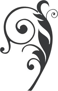 Schnrkel Tattoo Vorlage Geschrgt Halloween Pinterest