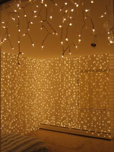 40 Home Decoration Ideas With String Lights Light Bedroom And Chang E 3