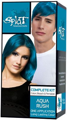 Splat Aqua Rush Hair Dye