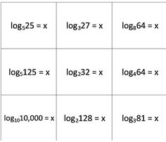 Logarithmic And Exponential Equations Maze Free Activity