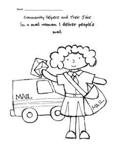 community helper coloring pages transportation community