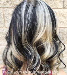 30 shades of grey silver and white highlights for eternal youth medium black hair silver