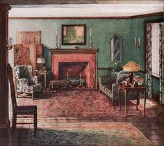 1920s Living Rooms And Google Search On Pinterest