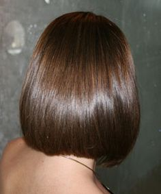 blunt shoulder length bob back view haircut ideas pinterest shoulder length and bobs