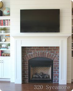 See This Fireplace Updated By Hgtv Fixer Upper Hosts Chip