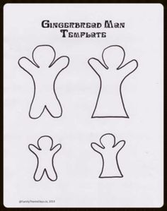 1000 Images About Gingerbread Fun For Kids On Pinterest