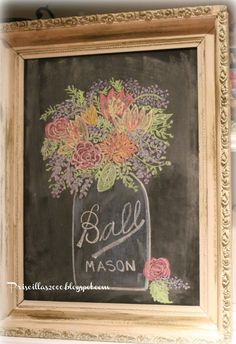 1000 Images About Chalkboard Writing On Pinterest