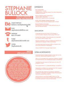 resume creative resume and modern on pinterest