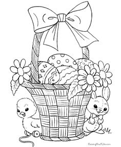 1000 images about easter spring coloring on pinterest easter