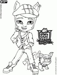 1000 images about coloring pages on pinterest monster high