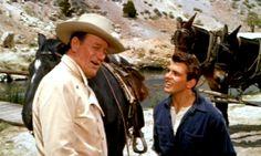 NORTH TO ALASKA (1960) - John Wayne carries his partner's fiance ...