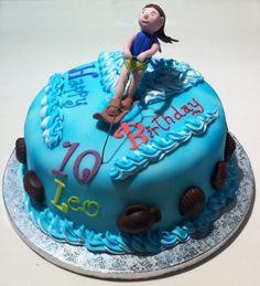 Ski Birthday Cake Cakes And Stuff Pinterest Happy