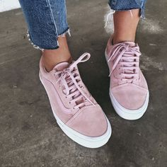 Dusty Pink Vans old