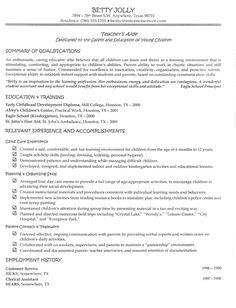 teacher assistant job description and resume on pinterest