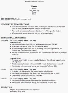 functional resume resume and functional resume template on pinterest