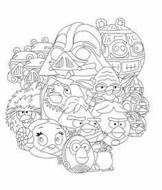 coloring pages star wars and coloring on pinterest