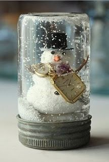 1000 Images About DIY Snow Globes On Pinterest Snow