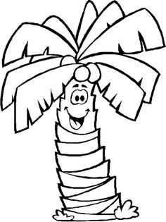 banana tree coloring pages 1000 images about trees coloring pages on