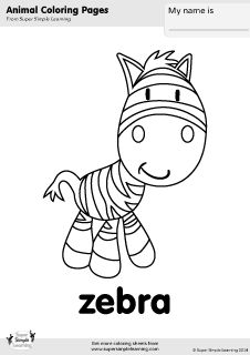coloring pages super simple and coloring on pinterest