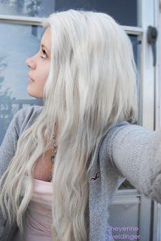 long white hair on pinterest long gray hair long silver hair and dyed white hair