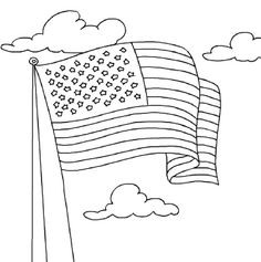 american flag coloring page flags and coloring on pinterest