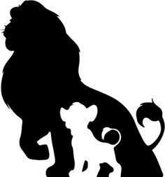 1000 Ideas About Lion Silhouette On Pinterest
