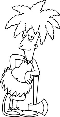 the simpsons coloring pages for girls and coloring pages on pinterest