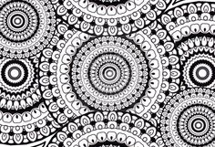 zentangle circles doodle drawing by kathyahrens more