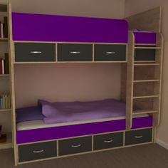 Phoenix High Sleeper Bed With Under Bed Sofa Ideal For