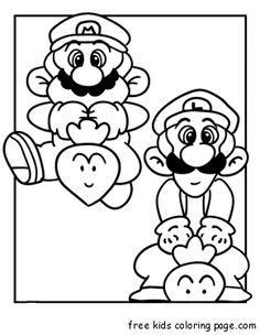 baby luigi coloring pages for the boys pinterest coloring