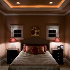 Lighted Crown Molding I Would Like This In My Bedroom But Need To Come Up
