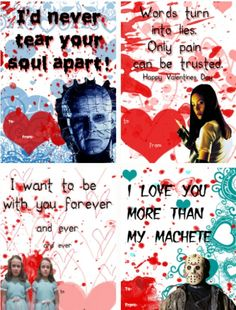 Valentines Horror On Pinterest Horror Horror Movies