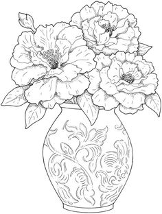 dover publications dovers and beautiful flower arrangements on