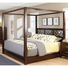 Four Poster King Size Bed From Bombay Company Beautiful