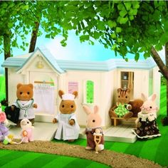 Sylvanian Families Cottage Hospital Toys Calico