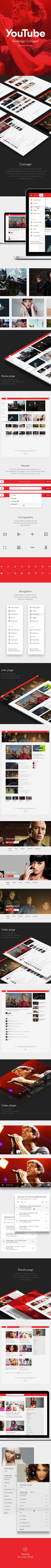 YouTube Redesign Con