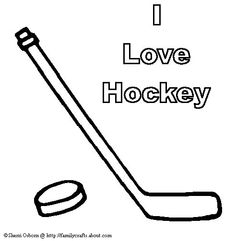 hockey coloring and coloring pages on pinterest