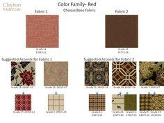 New Robin Bruce Fabrics And Suggested Correlates