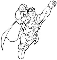 download superman coloring pages free printable or print superman